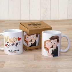 Taza de Novios Pop & Fun