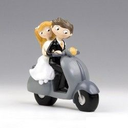 Figura para Tartas Novios en Scooter Pop & Fun
